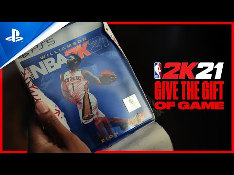 NBA 2K21 - Give The Gift Of Game | PS5, PS4