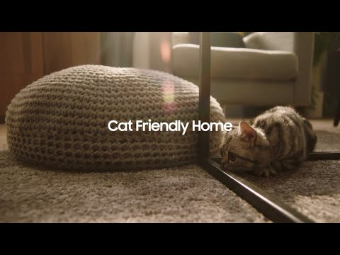 Samsung Jet™: Cat friendly home