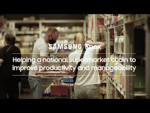 Knox: Helping a national supermarket chain to improve productivity and manageability | Samsung