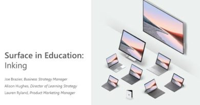 Microsoft Surface in EDU: Inking