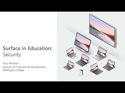 Microsoft Surface in EDU: Security