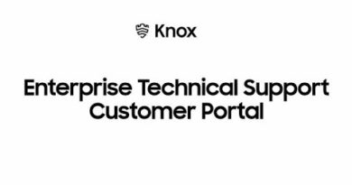 Knox: Enterprise Technical Support Customer Portal   Samsung