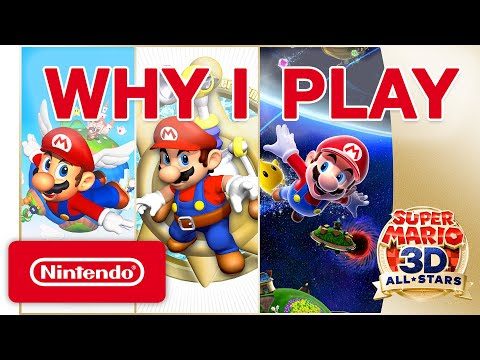 Why I Play - Super Mario 3D All-Stars
