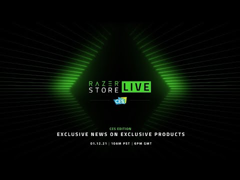 RazerStore LIVE CES Edition | Exclusive News on Exclusive Products