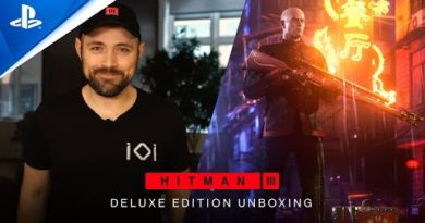 Hitman 3 - Deluxe Edition Unboxing   PS5, PS4, PS VR