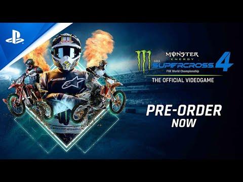 Monster Energy Supercross 4 - Kick Off Trailer | PS5, PS4