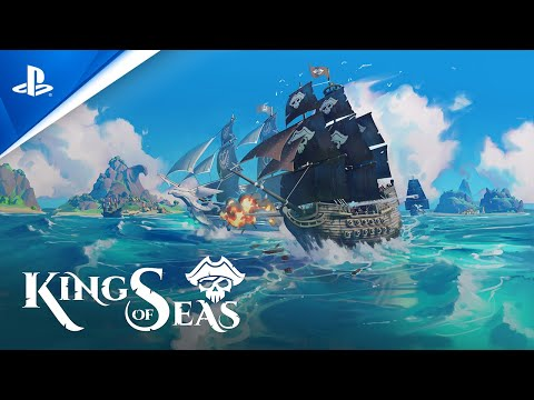 King of Seas - Launch Trailer | PS4