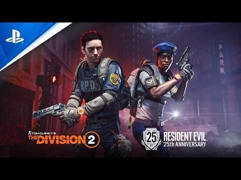 Tom Clancy's The Division 2 x Resident Evil - 25th Anniversary Event Trailer | PS4