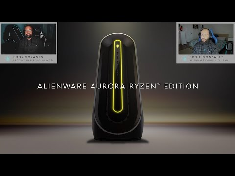 Upgraded Alienware Aurora Ryzen Edition | Product Walkthrough​
