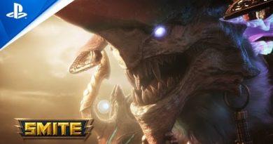Smite  - New Goddess: Tiamat Reveal   PS4
