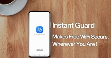 How to stay safe on free WiFi– Instant Guard | ASUS