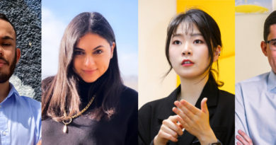Samsung and the United Nations Development Programme Welcome Four Young Leaders to Expand Their Commitment to the Global Goals