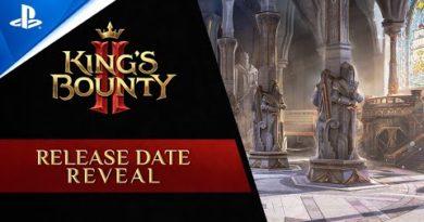 King´s Bounty II - Release Date Reveal Trailer   PS4