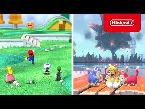 Super Mario 3D World + Bowser's Fury - Launch Trailer - Nintendo Switch
