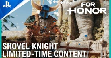 For Honor - Shovel Knight Crossover Announce Trailer | PS4