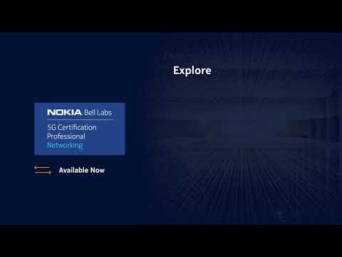 Nokia Bell Labs 5G Certification - Professional Networking course