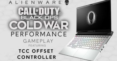 Alienware m17 R4: TCC Offset Controller - Game play Performance