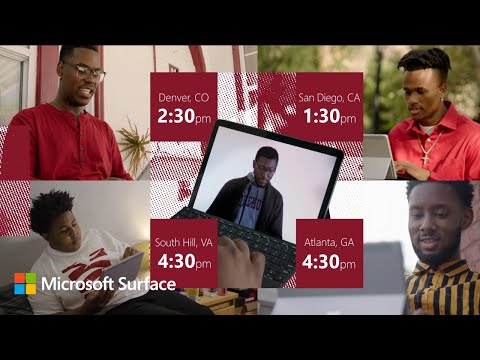 Morehouse College chooses Microsoft Surface for their Remote Learning