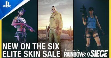 Rainbow Six Siege - Elite Skins On Sale Now | PS4