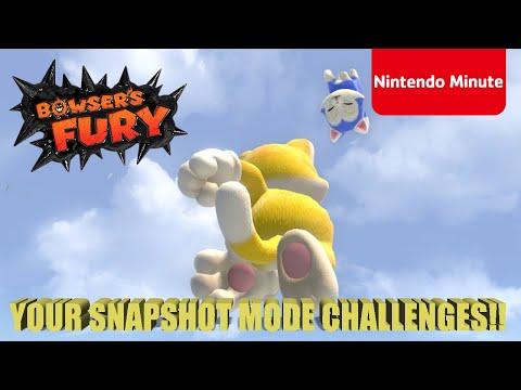 Super Mario 3D World + Bowser's Fury – Snapshot Mode Challenge!