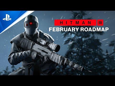 Hitman 3 - February Roadmap   PS5, PS4, PS VR
