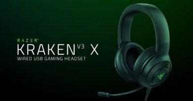Razer Kraken V3 X   Ultra-Light Comfort for Gaming Immersion