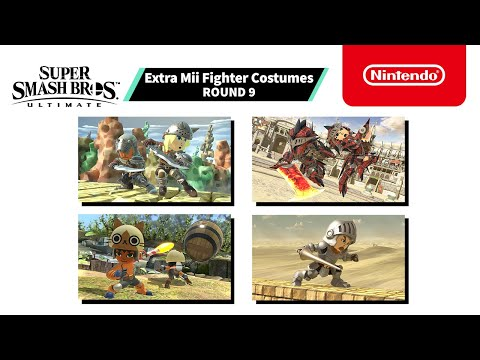 Super Smash Bros. Ultimate - Mii Fighter Costumes #9 - Nintendo Switch