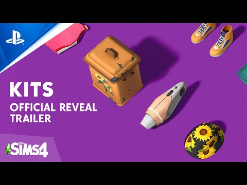 The Sims 4 - Kits Reveal Trailer | PS4
