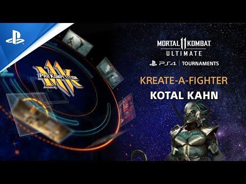 Mortal Kombat 11 Ultimate - Kreate-A-Fighter Kotal Kahn (Biohazard) | PS CC