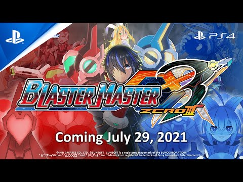 Blaster Master Zero 3 - Announcement Trailer | PS4