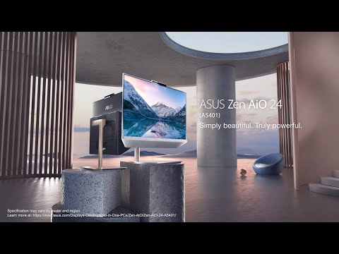Zen AiO 24 - Simply beautiful. Truly powerful | ASUS