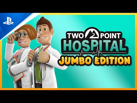 Two Point Hospital: Jumbo Edition - Launch Trailer | PS4