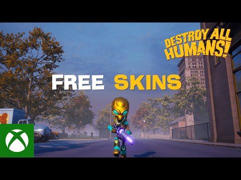 Destroy All Humans! - Free Skins Trailer