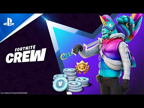 Fortnite - March Crew Pack | PS5, PS4