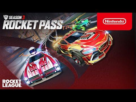 Rocket League - Season 3 Rocket Pass Trailer - Nintendo Switch