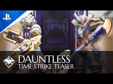 Dauntless - Time Strike Teaser Trailer | PS4