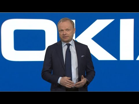 Pekka Lundmark at Nokia Annual General Meeting 2021