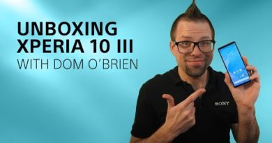 Unboxing Xperia 10 III with Dom O'Brien