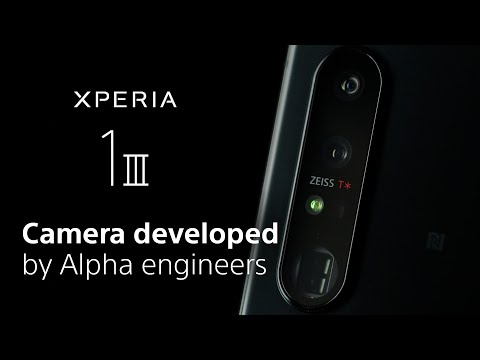 Xperia 1 III – Camera developed by Alpha Engineers