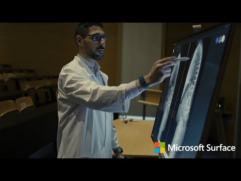 Hospital gains transformational efficiency and effectiveness boost from Surface Hub 2S