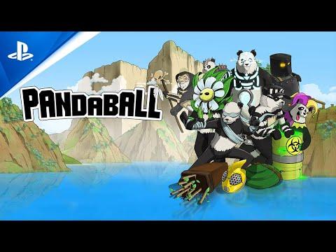 PandaBall - Local Multiplayer Gameplay Trailer   PS4