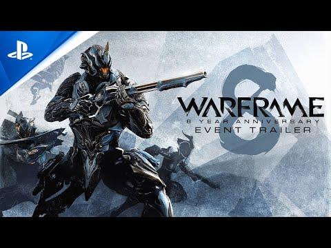 Warframe - 8 Year Anniversary Trailer   PS5, PS4