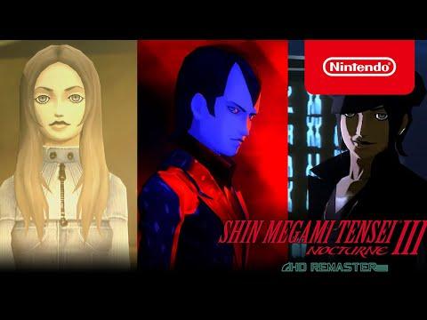 Shin Megami Tensei III Nocturne HD Remaster - Factions & Choices Trailer - Nintendo Switch