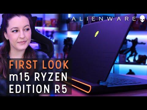 First Look - m15 Ryzen Edition R5 - Alienware