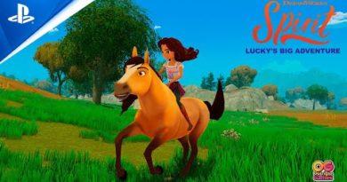 Spirit Lucky's Big Adventure - Gameplay Trailer   PS4
