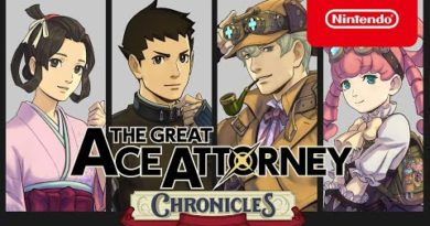 The Great Ace Attorney - Announcement Trailer - Nintendo Switch