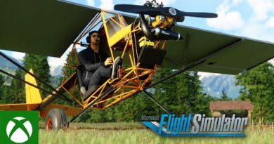 Microsoft Flight Simulator – Top Rudder Solo 103 Ultralight Plane