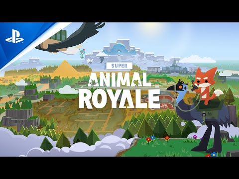 Super Animal Royale - Announce Trailer | PS5, PS4