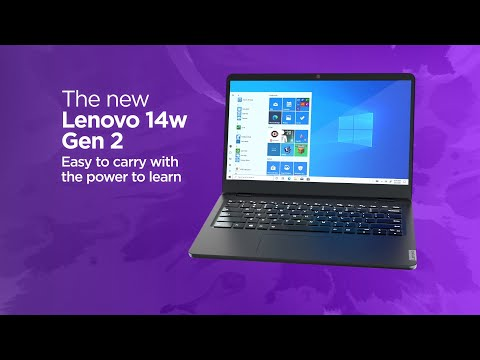 Lenovo 14w Gen 2 Product Tour