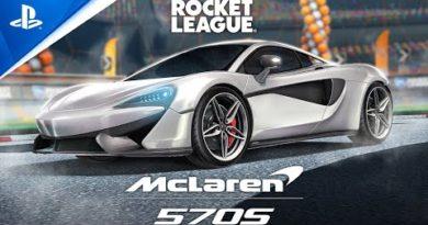 Rocket League - McLaren 570S 2021 Trailer | PS4